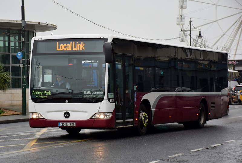 132DL2108 The Quay Waterford 27 December 2019 Formerly in the YourBus fleet - Nottingham area.  Not sure about DL reg.