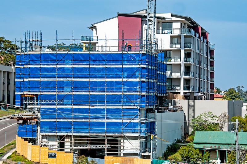 Building progress 110. At 47 Beane St. Gosford. July 2018.