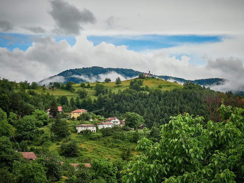 Bulgarian mountainside