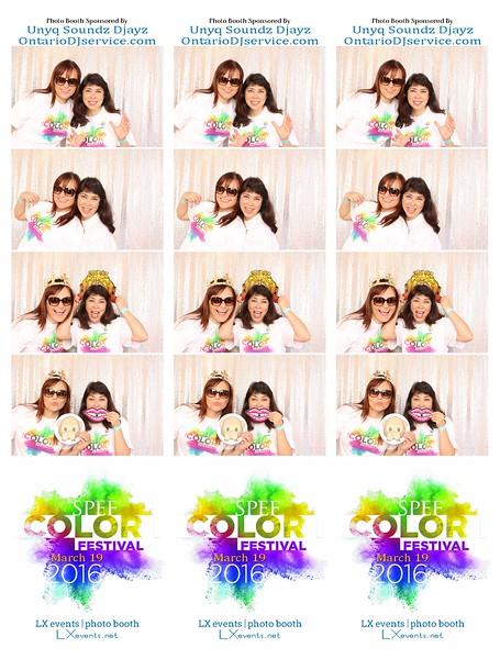 "SPEF Color Fest 2016 - Digital Prints 6""x8"""