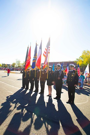 Veteran's Day Parade at Benito Martinez Elementary School
