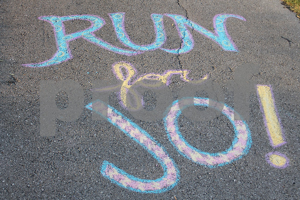 TriFest Chalk Walk 2013
