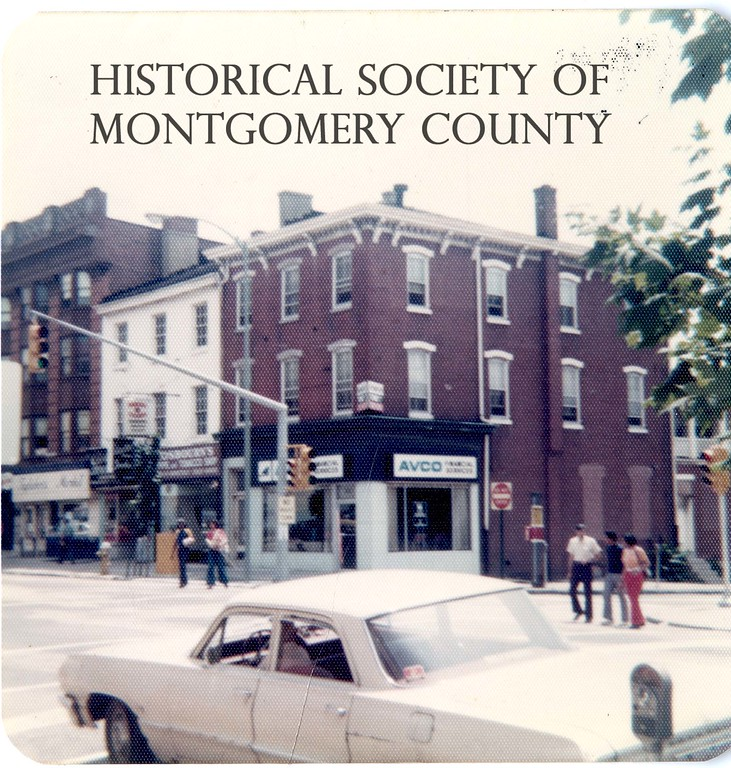 . This photo from the Historical Society of Montgomery County shows West Main Street in Norristown in the early 1970s.