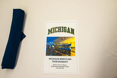 2017 Michigan Wrestling Banquet 4/21/17