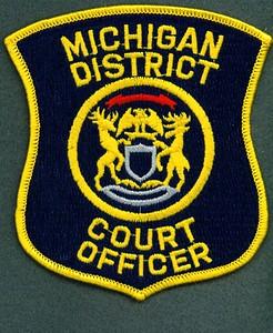 Michigan Court Officer