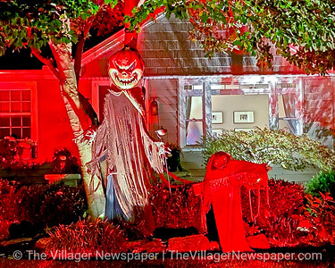 Bay Village Halloween Displays 2020
