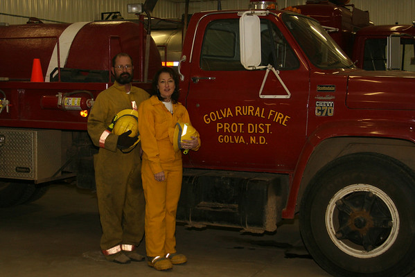 Golva Rural Fire District, Golva, N.D.: 11/27/07
