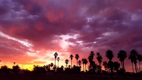2018 April - Arizona Sunsets