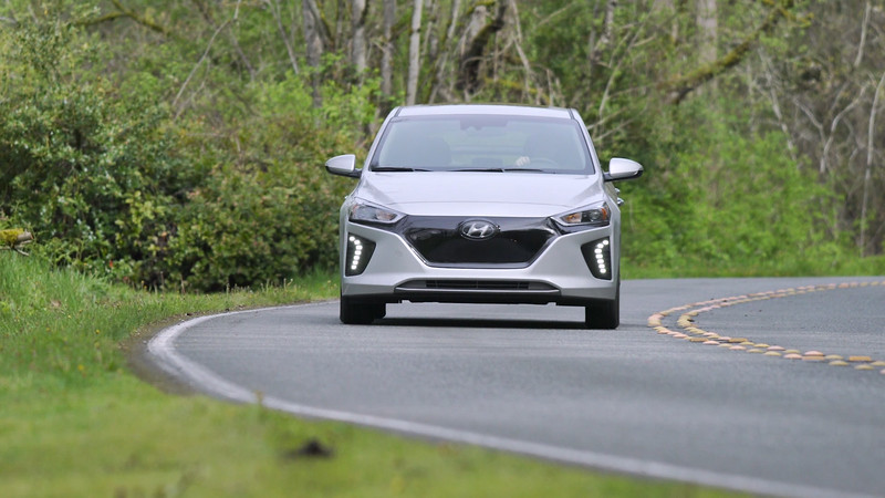 2017 Hyundai Ioniq EV Driving Reel