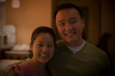 Andy & Karen's Engagement Dinner 2.2.08