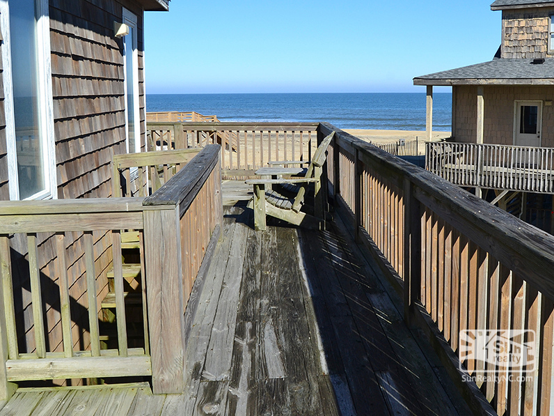 Top-Level Deck with Ocean Views