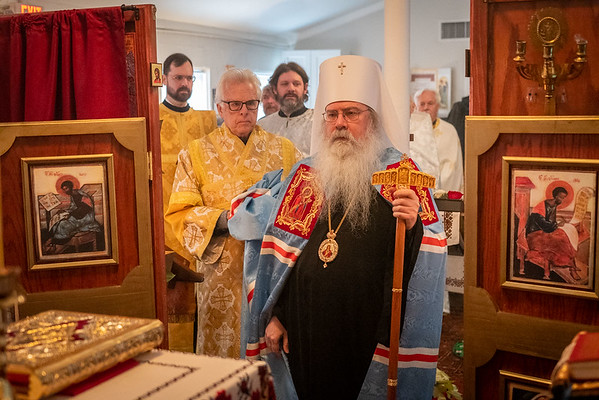 His Beatitude Visits All Saints in Alexandria