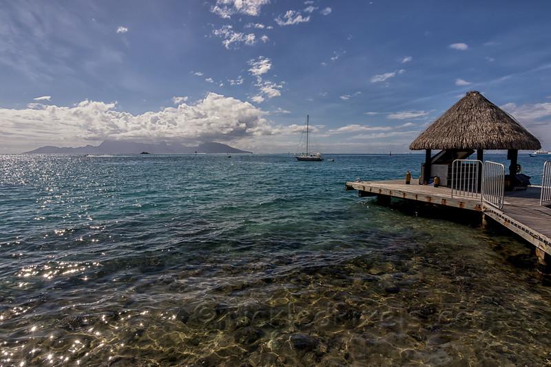 Moorea from Tahiti