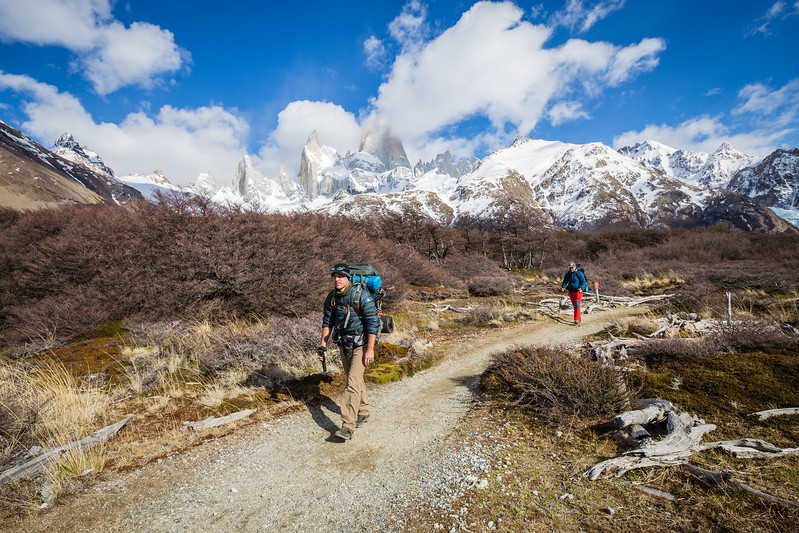 Hiking in Patagonia Divergent Travelers