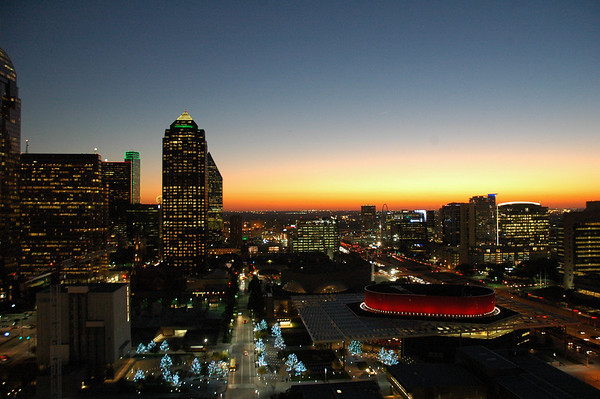 Dallas - the new Winspear Opera House and Arts District