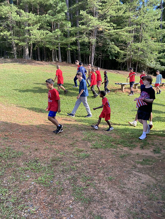 Webelos Campout with Troop Sept 2021