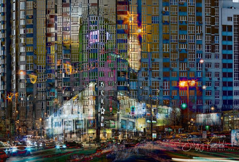 Mandarin Plaza at night
