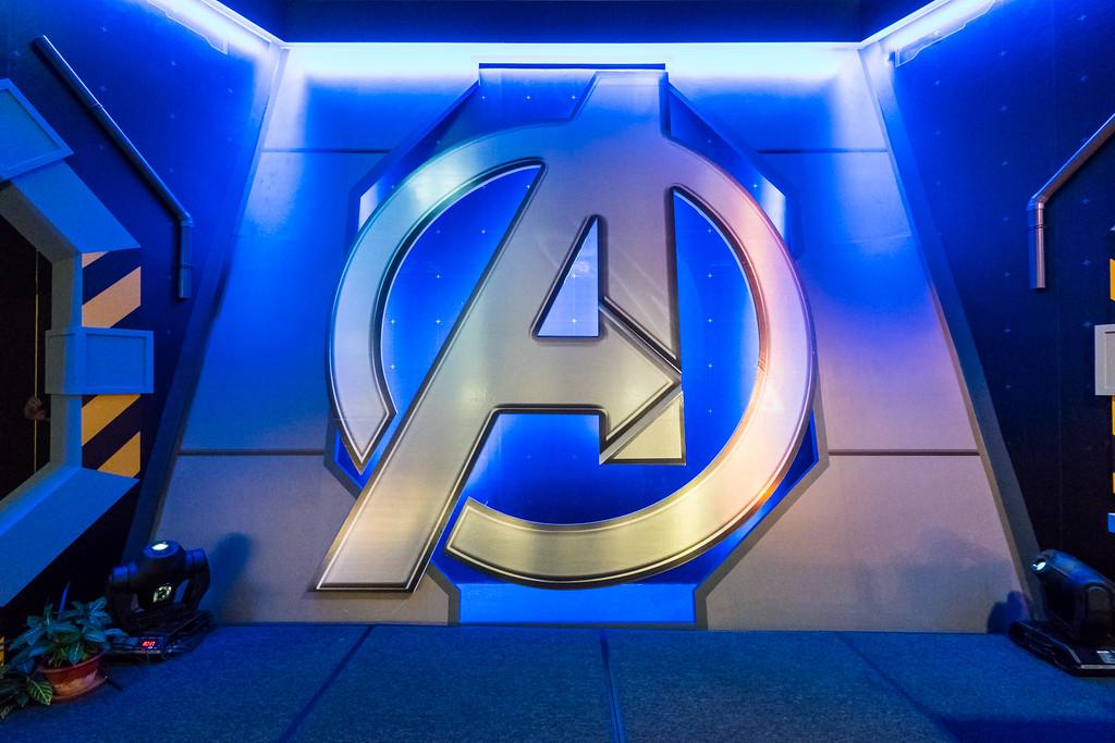 MARVEL'S AVENGERS S.T.A.T.I.O.N. - Avengers logo