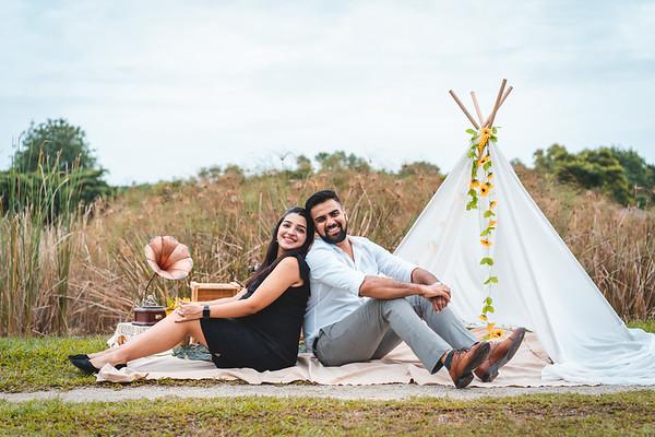 Vineeta and Rahul Couple Photos