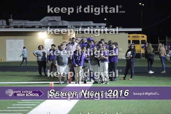 LBJ Football Sr Night Activities 2016