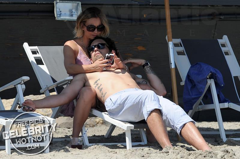 Kaley Cuoco Swept Off Her Feet Kissing Then Husband Ryan Sweeting In Malibu
