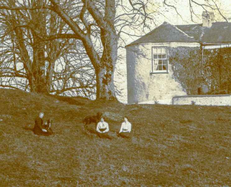 Belton family house in Moate, Eire - circa 1912