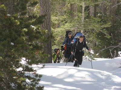 CMC San Jacinto Snow climb 1-30-31-2010