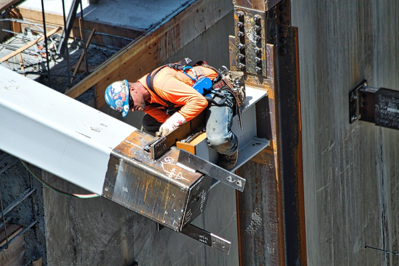 Golden 1 Center construction-May