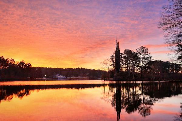 Stone Mountain Park Sunrise 2019