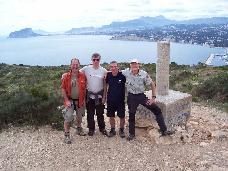 Completion of the Cala Moraig to El portet hike