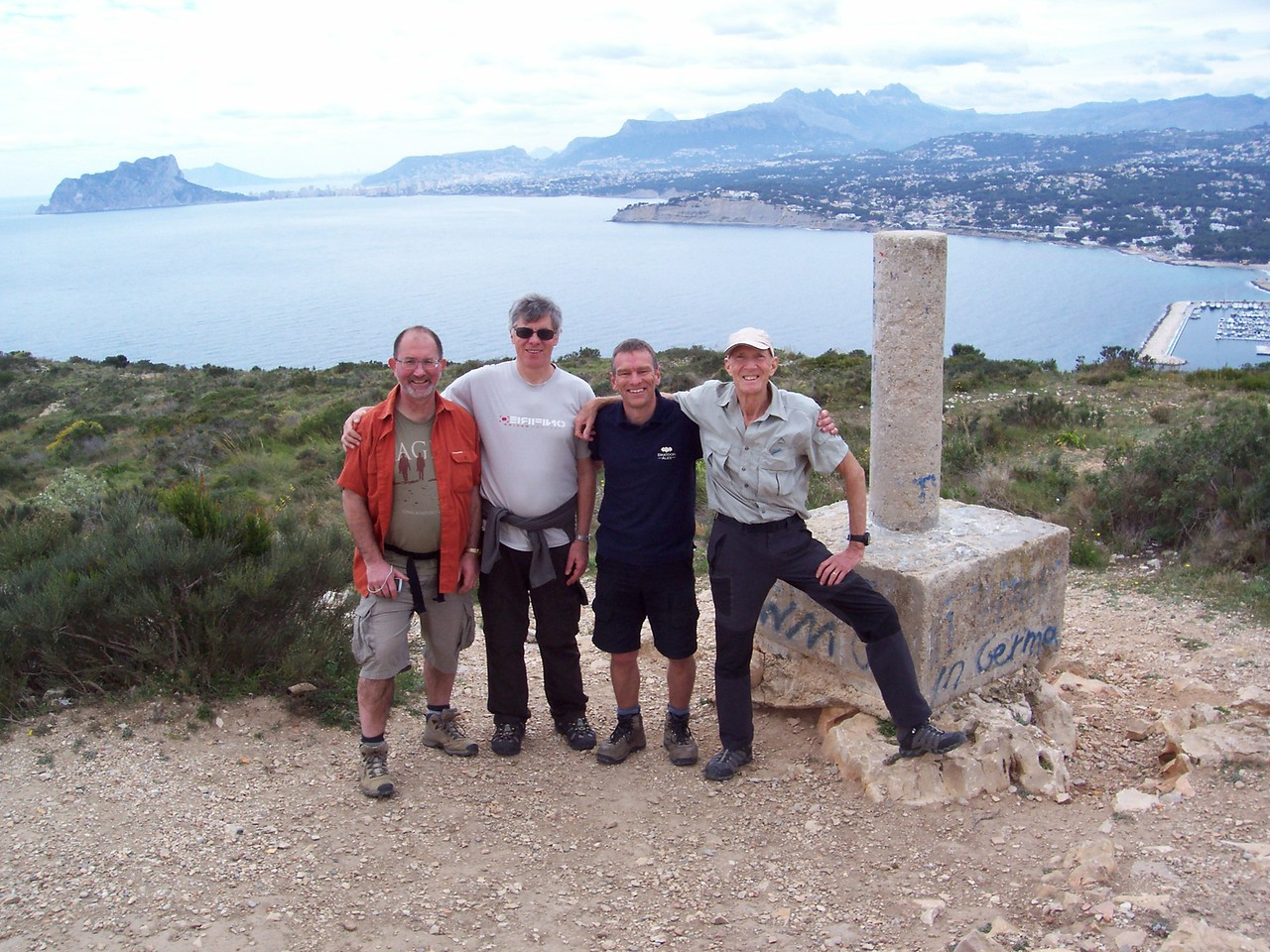 Completion of the Cala Moraig to El portet hike