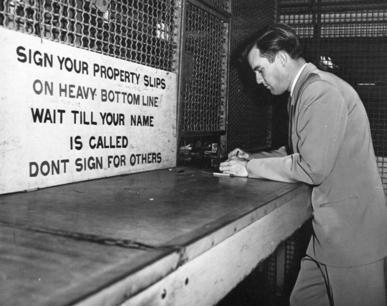 1947, Sign Your Property Slips
