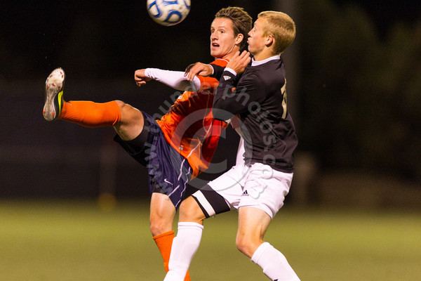 Wheaton College Men's Soccer vs UW Osh Kosh, October 5, 2012