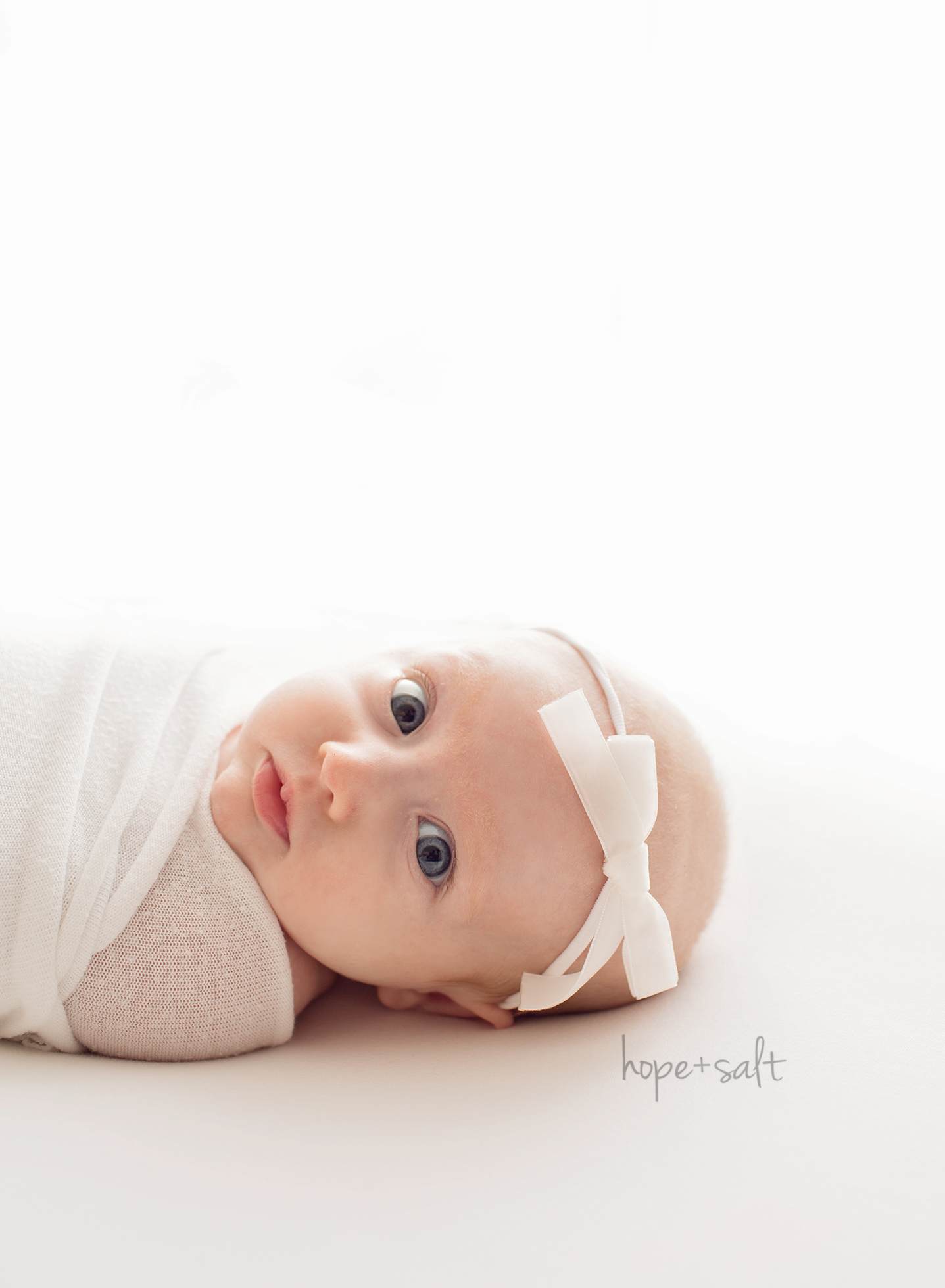 A studio session for 3-month old girl Emma Burlington Ontario baby photographer Hope + Salt