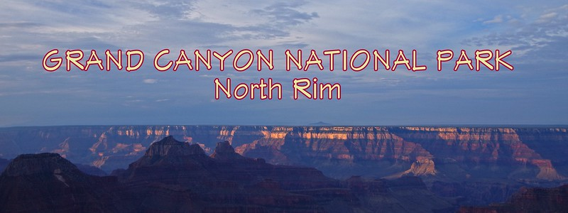 Grand Canyon National Park North Rim Arizona