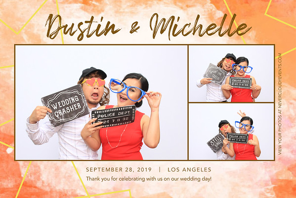 Dustin & Michelle Wedding Prints
