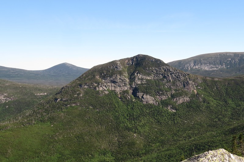 The Owl, tomorrow's objecting. The trail runs up much of the ridge on the left..JPG