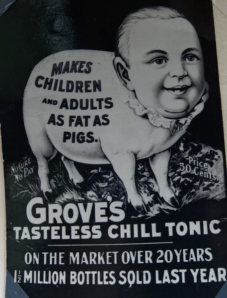 Grove's Chill Tonic-sold by the millions