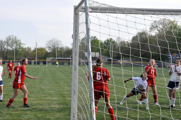 2010 SHHS JV Soccer vs Hayden