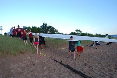 2011 08 19:  NWIRA, rowing, Lake Superior, Duluth MN