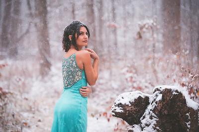 Snow Day Dress - Ivy
