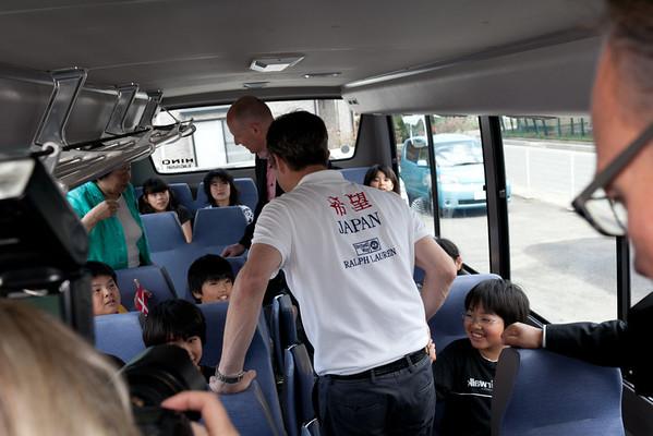 Event 2011 HRH Crown Prince Frederik Higashi-Matsushima School