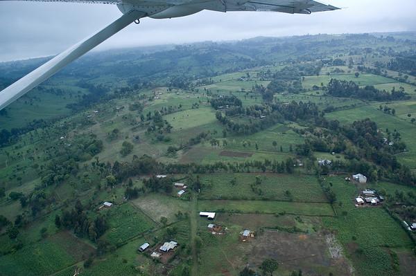 Flight from Lewa to Nakuru