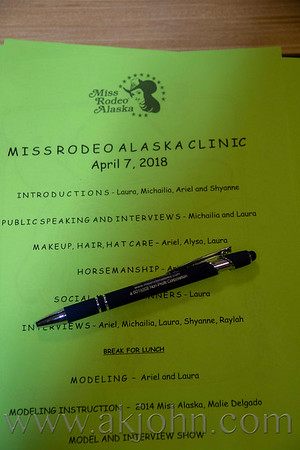 MISS RODEO ALASKA CLINIC - 2018