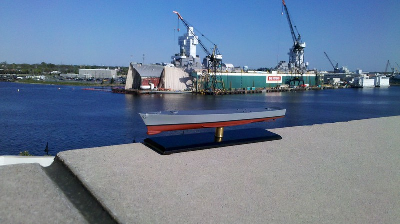 120403: CGN-37.  Somewhat forced perspective, courtesy of BAE Ship Repair in Norfolk, VA.