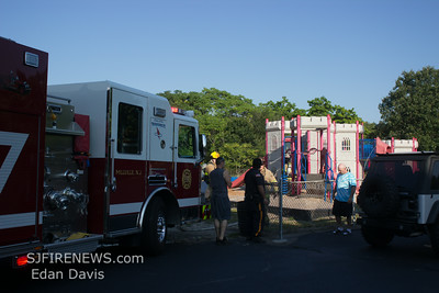 08-25-2014, a Dumpster / Playground, Millville, Cumberland County Kates Blvd and S. 3rd St.