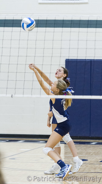 2015-10-21 Hillsdale Academy Junior High Volleyball vs. Pittsford