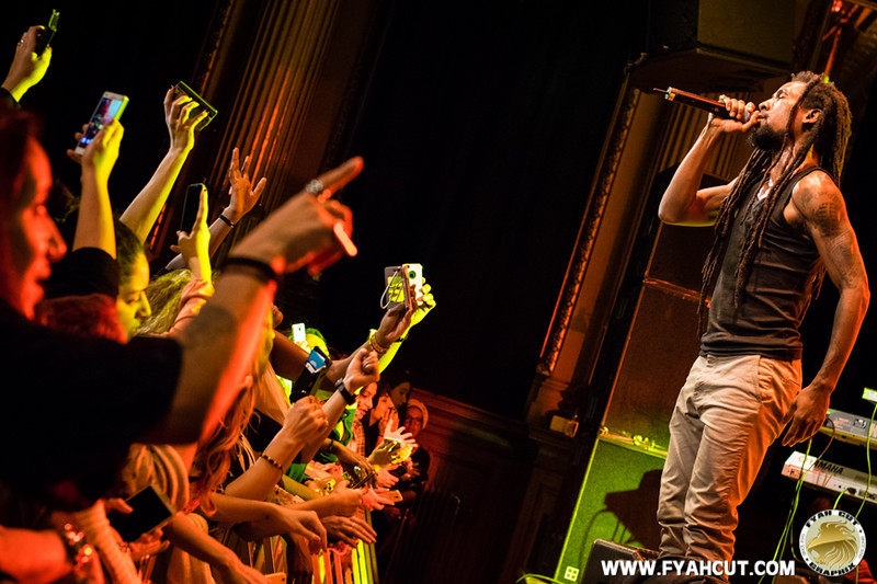 Jah Cure Live Stockholm Nalen 7.11.2014