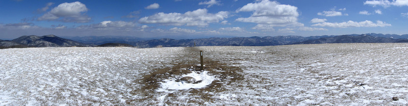 Max Patch summit, 4,616 feet...