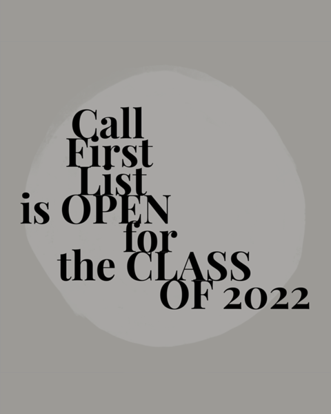 2021/03/30 ATTENTION: Class of 2022